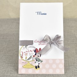 Meniu Botez Disney Minnie Mouse si Globul Pamantesc 3711