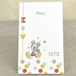 Meniu Botez Disney cu Mickey Mouse si Ursulet 3721
