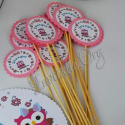 Etichete CandyBar Botez cu Bufnita Dragalasa