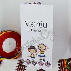 Meniu Traditional Nunta cu Miri imbracati in Tricolor