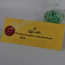 Plic de bani Nunta Vintage Design Pecete cu inimioare