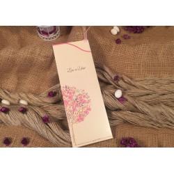 Invitatie de Nunta Eleganta cu Cires Inflorit 30346