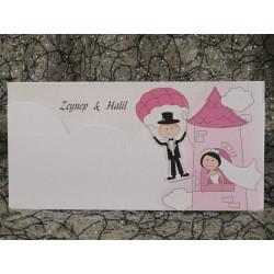 Invitatie de nunta haioasa 592
