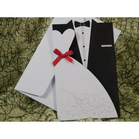 Invitatie de nunta cu miri 594