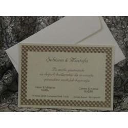 Invitatie de nunta clasica 597