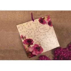 Invitatie de Nunta eleganta cu motiv Floral 41421
