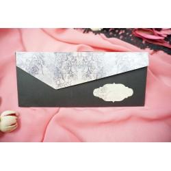 Invitatie de Nunta cu Model Floral Grafic 63677