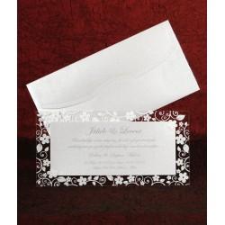 Invitatie de nunta eleganta cu sclipici 5338