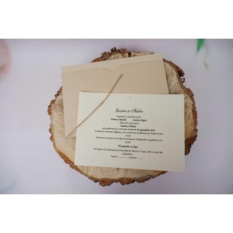 Invitatie de Nunta Eleganta 1189