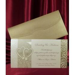 Invitatie de nunta vintage 5374