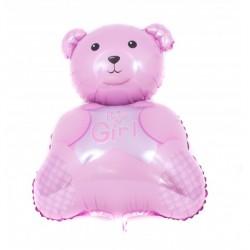 Balon Folie Haios Ursulet - Decor Botez