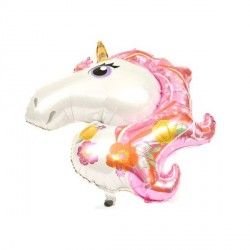 Balon Unicorn Roz - Decor Eveniment