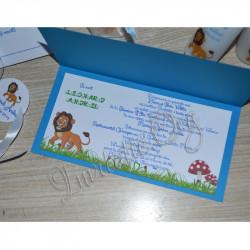 Invitatie de Botez Haioasa cu Simba Regele Leu