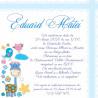 Invitatie electronica botez girafa bleu