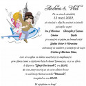 Invitatie de nunta electronica haioasa travel
