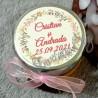 Eticheta Coronita cu Crengute de Toamna