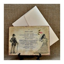 Invitatii De Nunta Vintage Invitatii Si Marturii